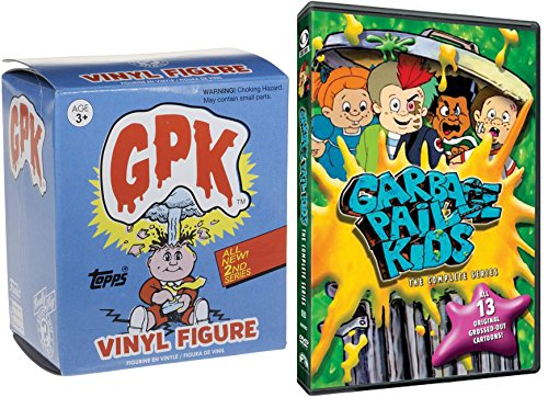 Grossed-Out Cartoon GPK Series & Figure The Garbage Pail Kids Complete original episodes 2-DVD Blind Box Mystery Minis Toy - Muppets Blind Box