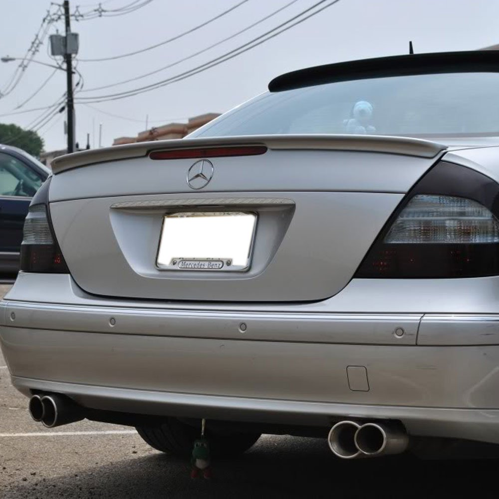 AMG Style ABS Painted Obsidian Black #197 Rear Tail Lip Deck Boot Wing Other Color Available By IKON MOTORSPORTS Pre-painted Trunk Spoiler Fits 2003-2009 Benz E-Class W211 2004 2005 2006 2007 2008