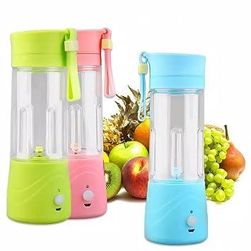Mini batidora mly-619 recargable portátil fruta Frulla Proteínas Fitness: Amazon.es: Hogar