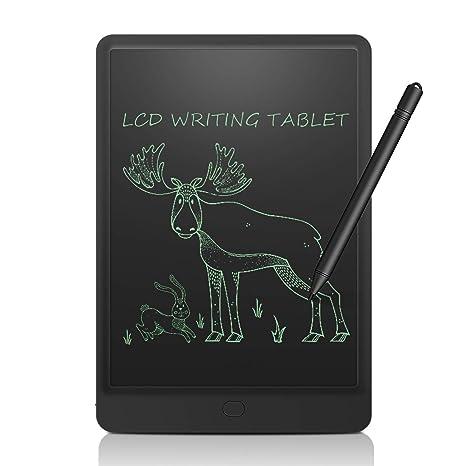 NEWYES Tableta de Escritura LCD eWriter 12 Pulgadas Tableta gráfica portátil. Pizarra Blanca, Tableta