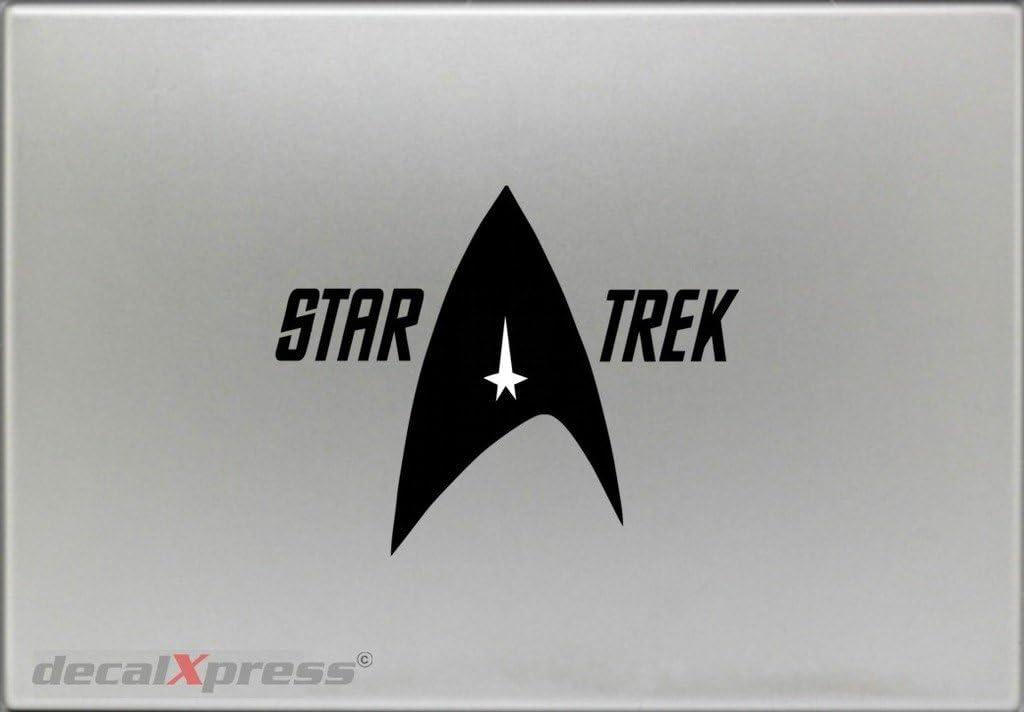 Star Trek Emblem - Sticker Decal MacBook, Air, Pro All Models.