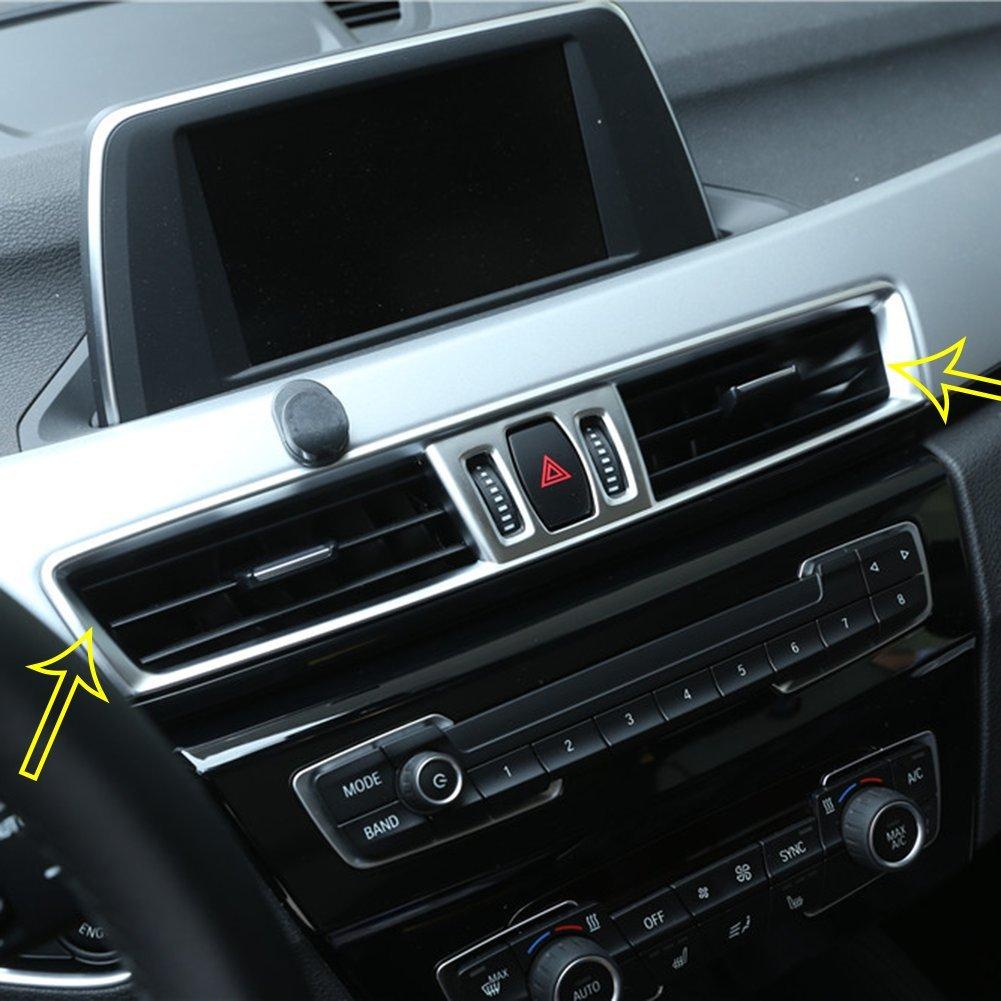 Accessori car-styling ABS cromato opaco console aria condizionata Vent cover Trim Agodor