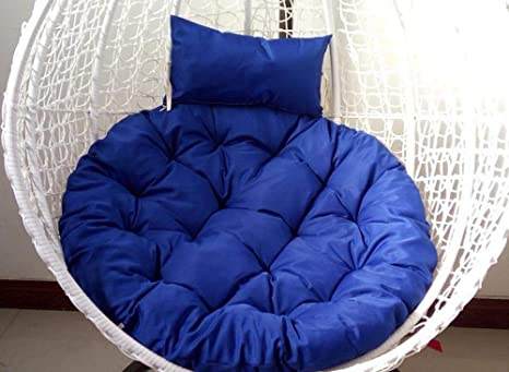 Amazon.com: KELE Cojín redondo para silla de mimbre para ...