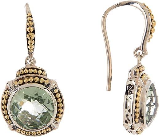 Green Amethyst Earrings 14K Gold Earrings 14K Amethyst Earrings 18K Gold Earrings 18K Amethyst Earrings Amethyst Earrings