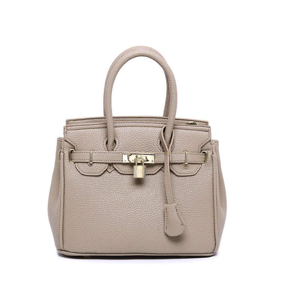 OVIIVO Women Handbag Shoulder Bag European and American Platinum Leather Handbag Handbag Crossbody Bag Shoulder Bag Outdoor Travle Crossody Bag