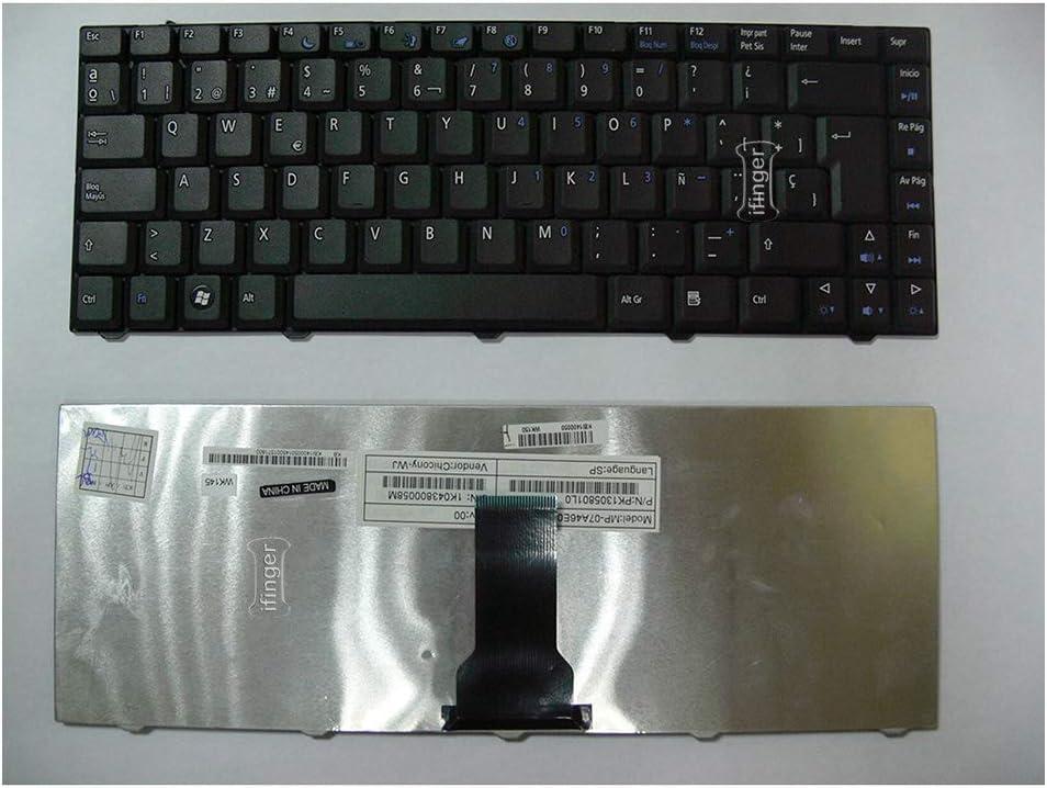 IFINGER Teclado español para Acer/Gateway E520 D520 MP ...