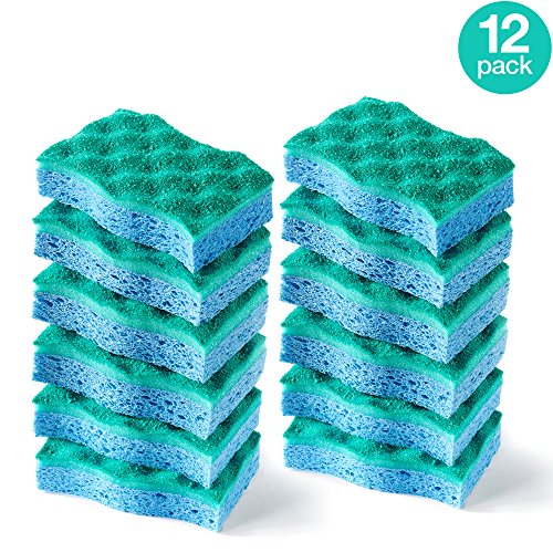 O-Cedar Multi-Use Scrunge Scrub Sponge (Pack of 12) by O-Cedar