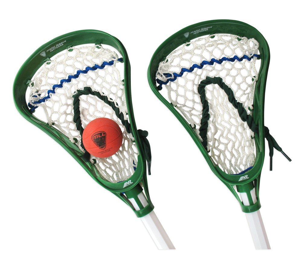 A&R Sports Major League Lacrosse Mini Sticks Set MLLMLAXSTK2-BALL