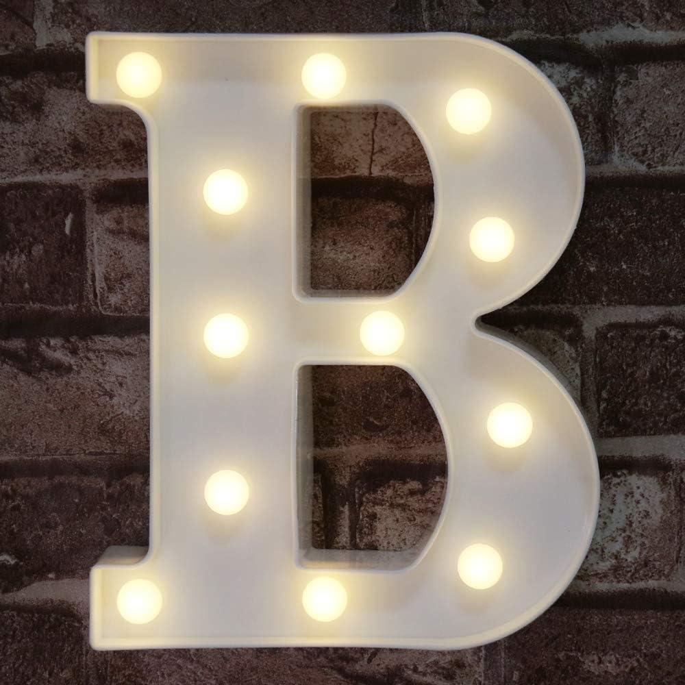 Dream Cubby DEL Marquee Signe Lettre Lumières Light Up Alphabet Lettres Pour Bar