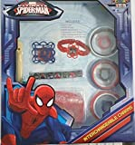 Fun Marvel Ultimate Spider-man Rainbow Loom Bracelets, Roxo Bands, Bracelets Bracelet Bands and Rings with Interchangable Charms