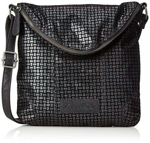 Fritzi aus Preussen - Dina, Shoppers y bolsos de hombro Mujer, Schwarz (Black), 3x28x28 cm (B x H T)