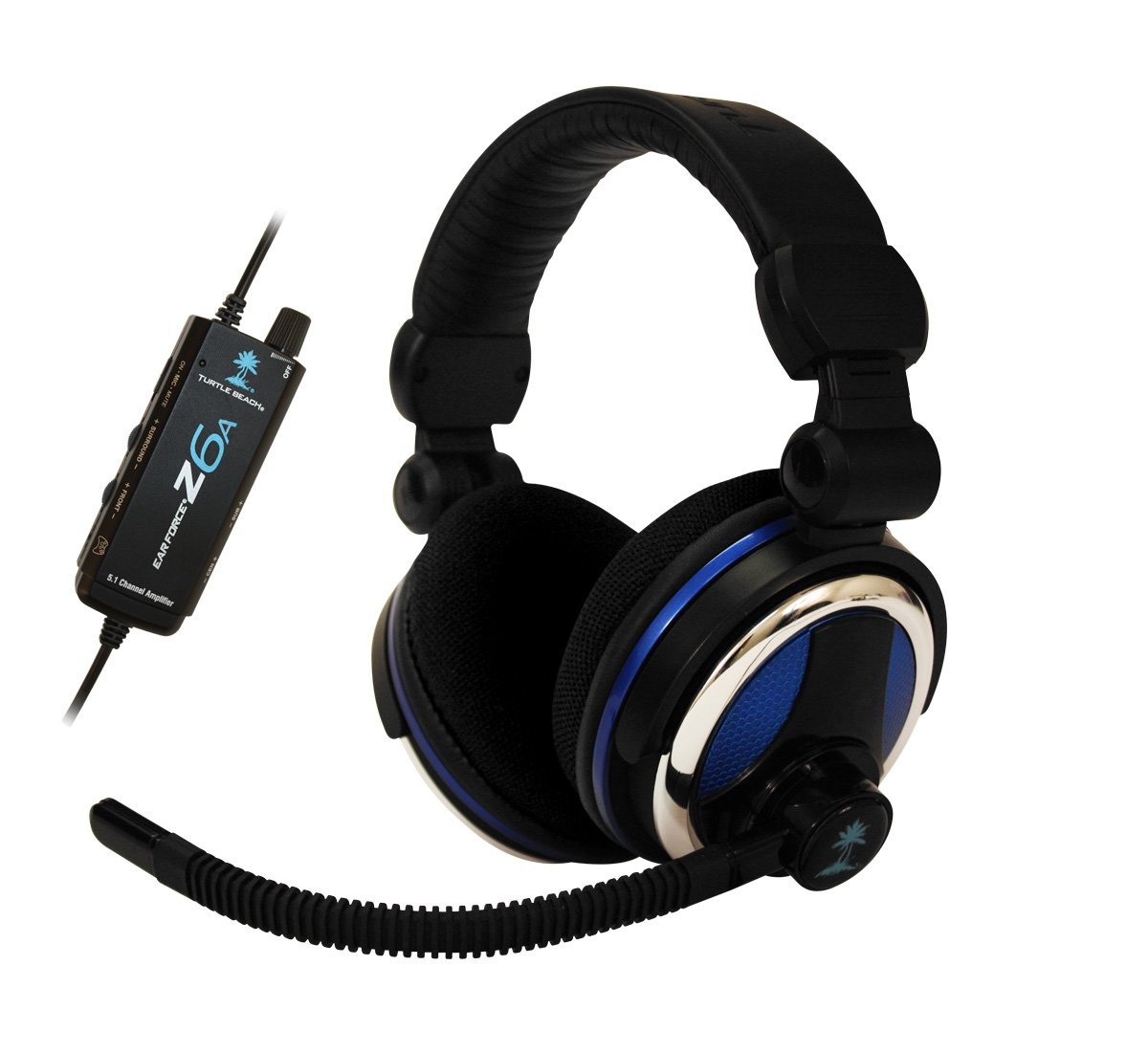 Turtle Beach Ear Force Z6A Headset (PC) [Importación inglesa]: Amazon.es: Videojuegos