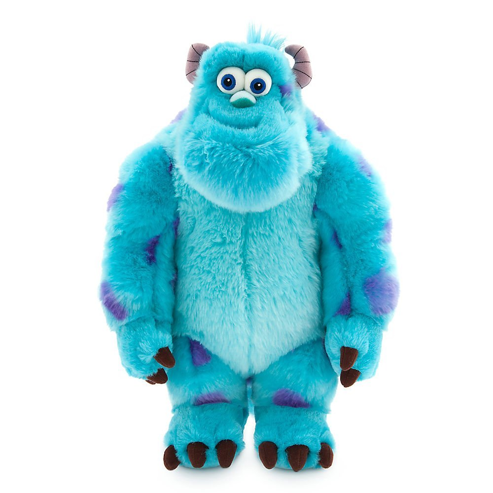 Disney Sulley Plush - Monsters, Inc. - Medium - 15 Inch 412612695305