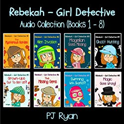 Rebekah - Girl Detective Books 1-8: Fun Short Story Mysteries
