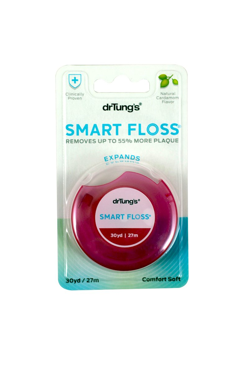 Dr Tungs Smart Floss, 30 Yards - 6 per case.