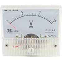 Class 2.5 DC 0-15V Voltage Panel Gauge Meter Voltmeter