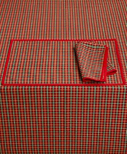 Bardwil Lenox Holiday Nouveau Joyful 60 x 102 Tablecloth