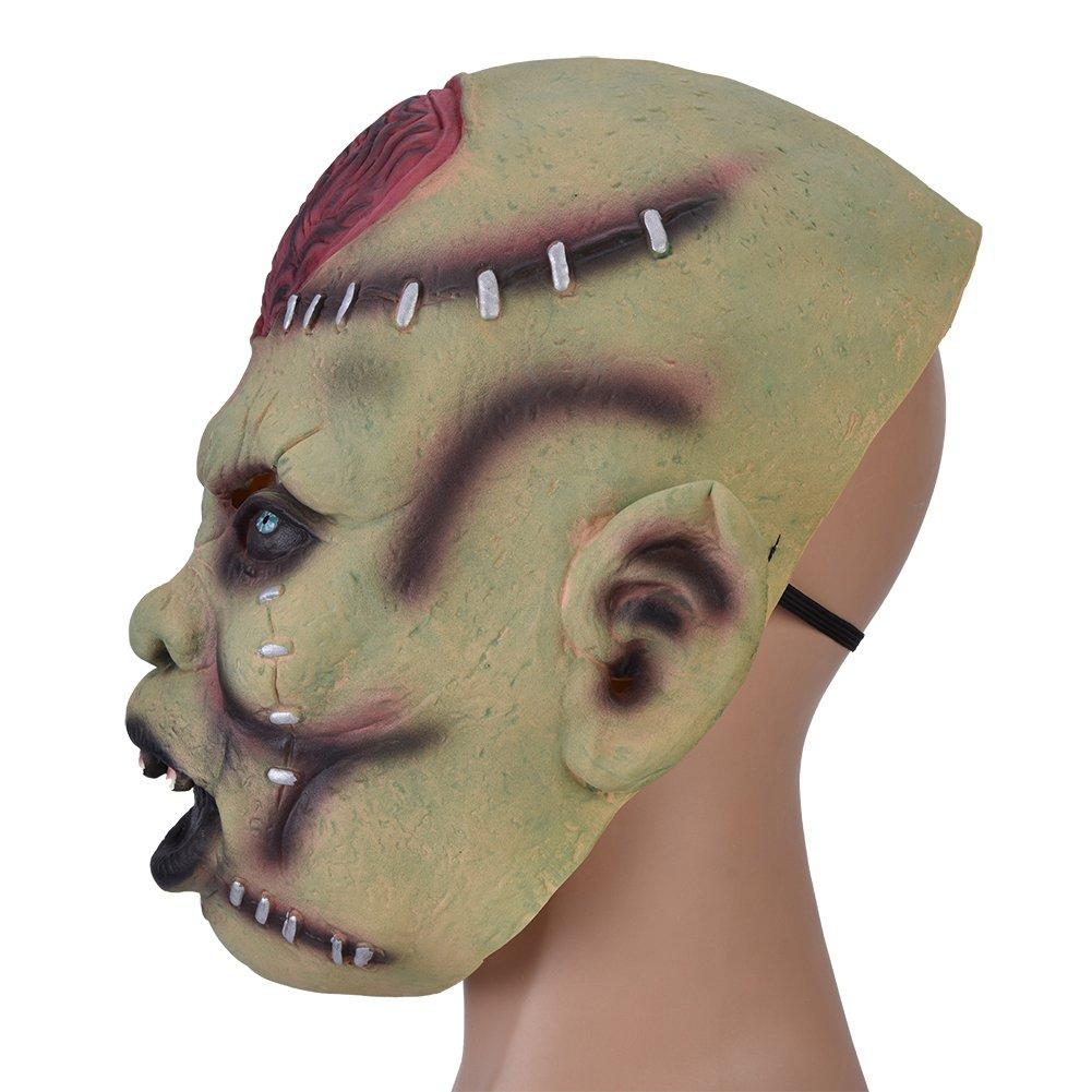 FTVOGUE 1pc Latex Horror Scary Mascarilla para Cosplay Disfraz Fiesta de Halloween: Amazon.es: Juguetes y juegos