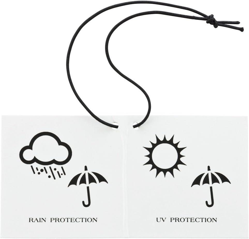 VON LILIENFELD/® Parapluie Canne Grand Robuste Ouverture Automatique Toit de Palmiers