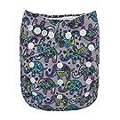 Alva Baby New Design Reuseable Washable Pocket Cloth Diaper Nappy + 2 Inserts YA118
