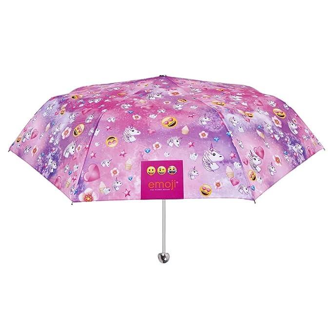 Emoji Paraguas mini chica manual PERLETTI prueba de viento O91