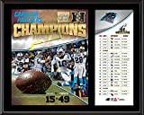"Carolina Panthers 2015 NFC Conference Champions 12"" x 15"" Sublimated Plaque - NFL Team Plaques and Collages"