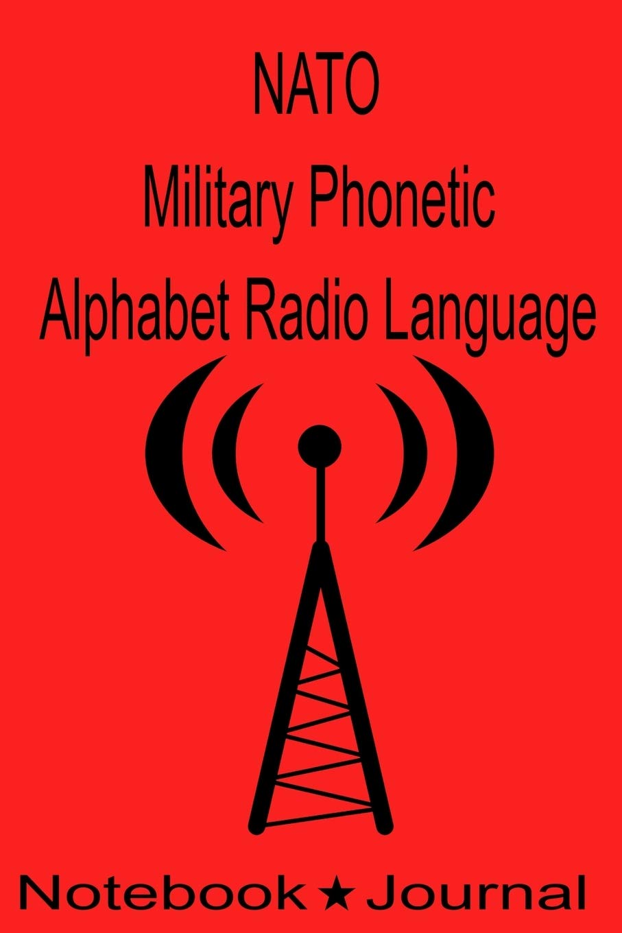 NATO Military Phonetic Alphabet Radio Language Notebook