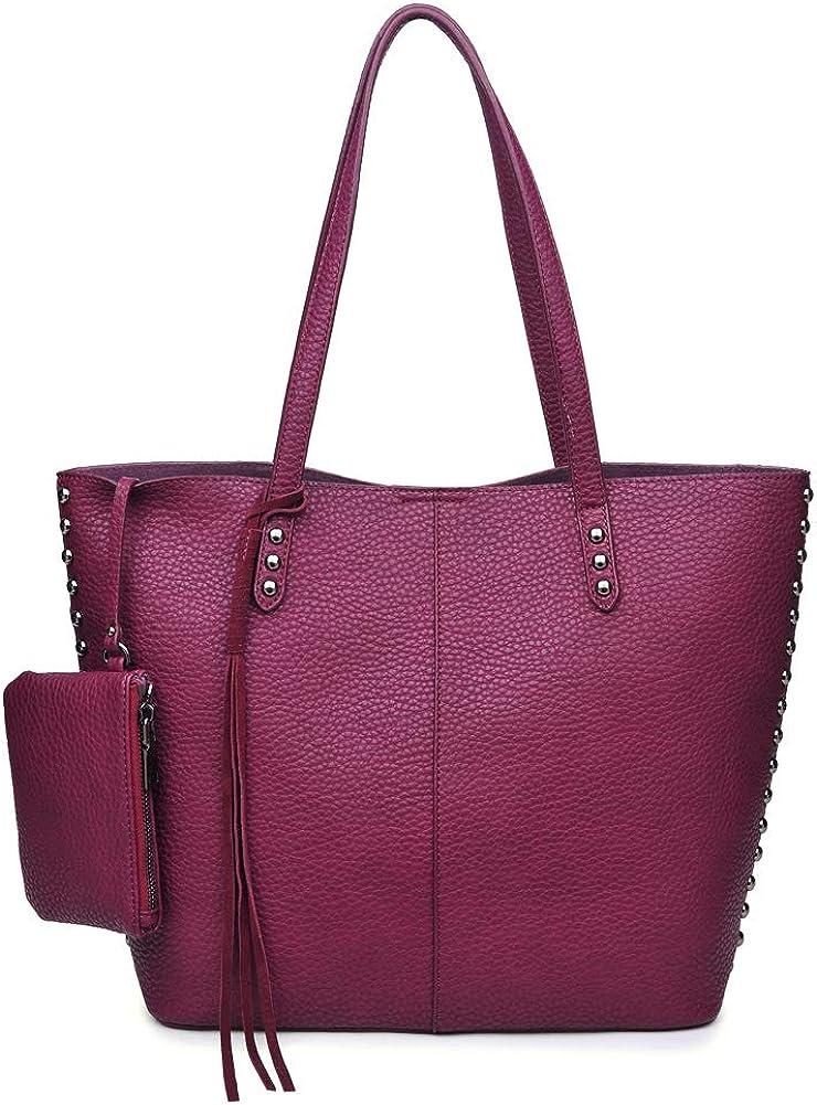 Moda Luxe Womens Stylish Penelope Tote Handbag