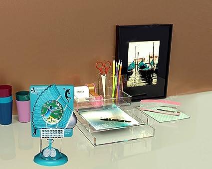 Newest Design Shuttle Cock Look Cute Table Clock, Kids Room
