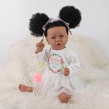 UCanaan Reborn Baby Lifelike Weighted Doll (Mixed), 22