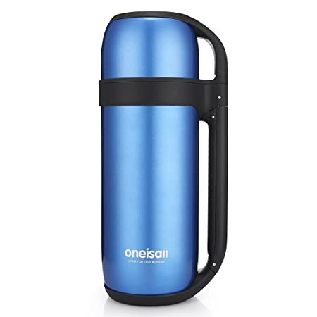 6c41333016 ONEISALL 1.5L 52 Ounce Stainless Steel Flask Double-Walled Insulated  Thermos Large Capacity Bottle