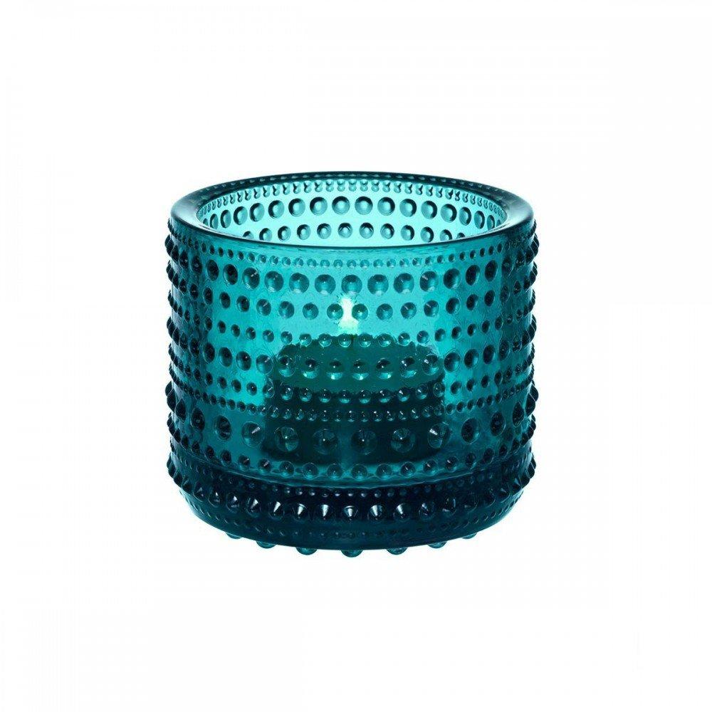 Iittala Iittala Iittala - Kastehelmi Votive - Teelichthalter - ultramarin blau 64 mm B00ATX8KVY Windlichthalter 4080b1