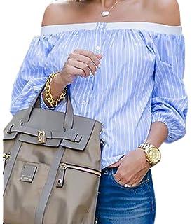 XiaoTianXinWomen XTX Womens Long Sleeve Loose Patchwork Roundneck Casual Floral Print Pullover Sweatshirt Tops