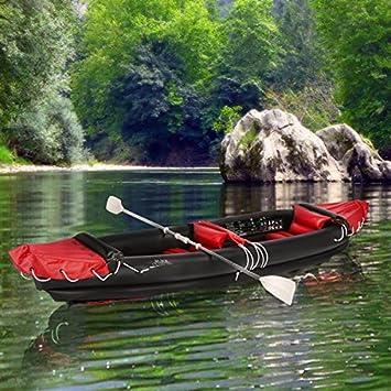 Canoa hinchable para 2 personas mide: aprox. 300 x 80 cm Peso ...