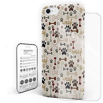 Amazon.com: Carcasa rígida para teléfono móvil con diseño de ...