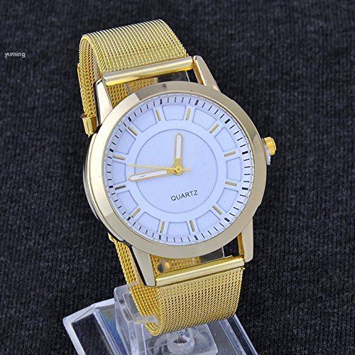 Caliente vender Classic Reloj muñeca fashion - Reloj de cuarzo para mujer vestido reloj de reloj de la mujer Golden Dropshipping A1: Amazon.es: Relojes