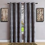 dark grey curtains sale Warm Home Designs Pair of Standard Length 37