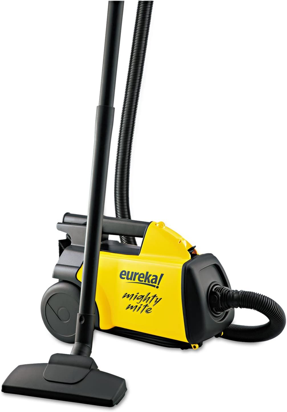 Eureka 3670 Lightweight Mighty Mite Canister Vacuum 9A Motor 8.2 lb Yellow