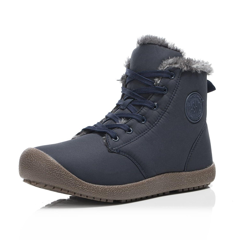 FLARUT Botas de Nieve Botines Calientes Zapatos de Invierno Zapatos Calor Exterior