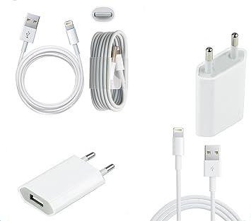 Little Boutik Cargador de Red+Cable USB para iPhone XR/XS ...