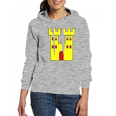 A Royal Castle home Womens Hoodie Fleece Custom Sweartshirts