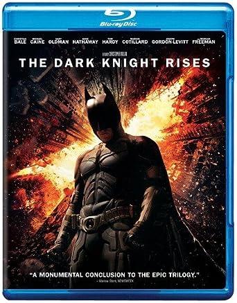 Amazon Com The Dark Knight Rises Blu Ray Christian Bale