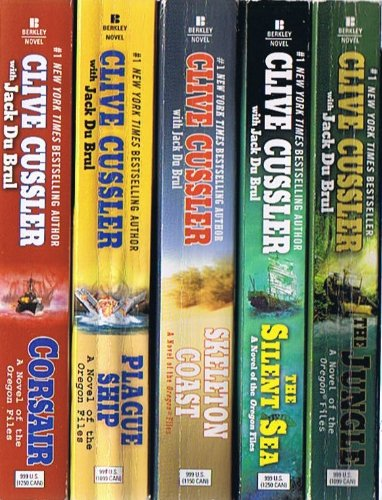 - Clive Cussler: Oregon Files Collection of 8 Paperback Volumes: Corsair; Plague Ship; Skeleton Coast; The Silent Sea; The Jungle; Sacred Stone; Golden Buddha; Dark Watch