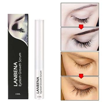 55cd8b543ad Amazon.com: Eyelash Growth Serum: 3PCS 7 Day Eyelash Enhancer Longer Fuller Thicker  Lashes Eyelashes and Eyebrows Enhancer Eye Makeup: Beauty