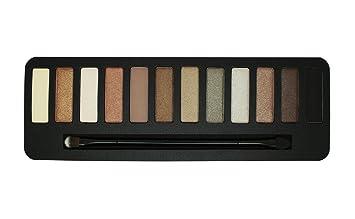 populair merk aankomen online te koop W7 Colour me Buff - Paleta de 12 Sombras de Ojos, Tono Natural