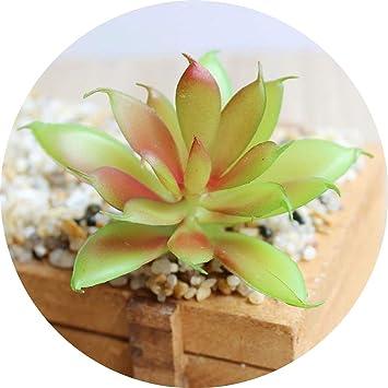 1x Artificial Succulent Flower Fake Plant Home Garden//Office Decor Green Pauline