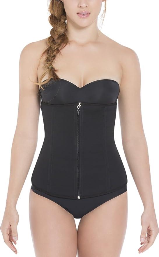 Details about  /Fajas Colombian LATEX Waist Trainer Girdle Slimming Body Shaper Shapewear Belt