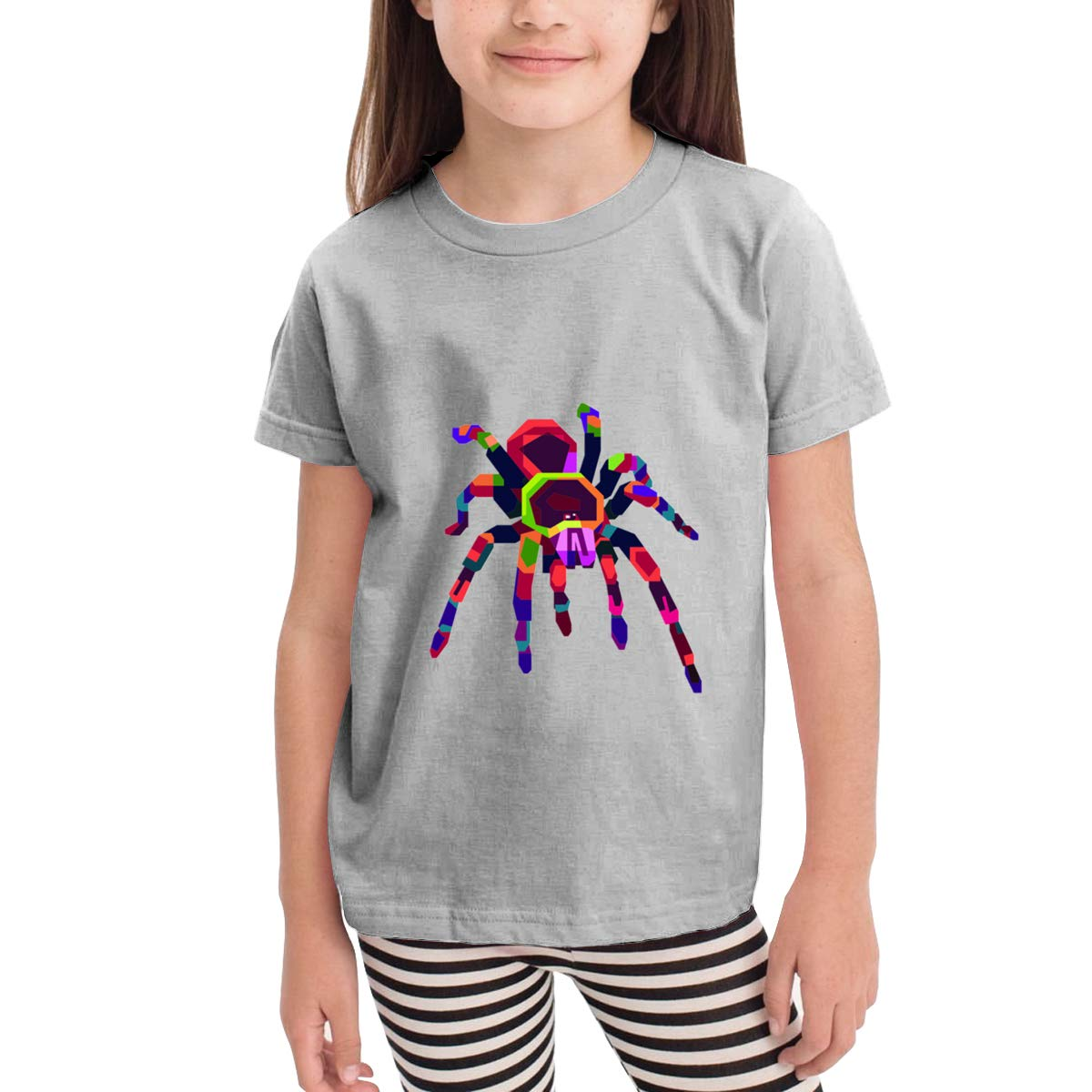 Onlybabycare Colorful Tarantula 100/% Cotton Toddler Baby Boys Girls Kids Short Sleeve T Shirt Top Tee Clothes 2-6 T