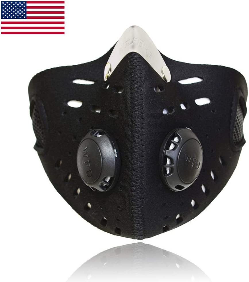 Dust Mask Sports Face Cover Mask Reusable Windproof Dustproof