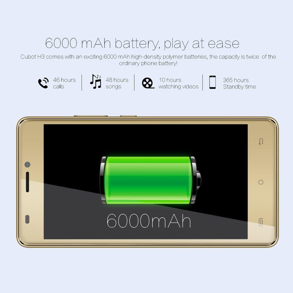 Moviles Libres Baratos, CUBOT H3 Smartphone Libre(2018 Última ...